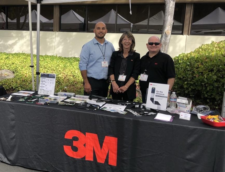 3M – Patrocinador Gold da San Jose Tech Fair and Expo da Heilind EUA