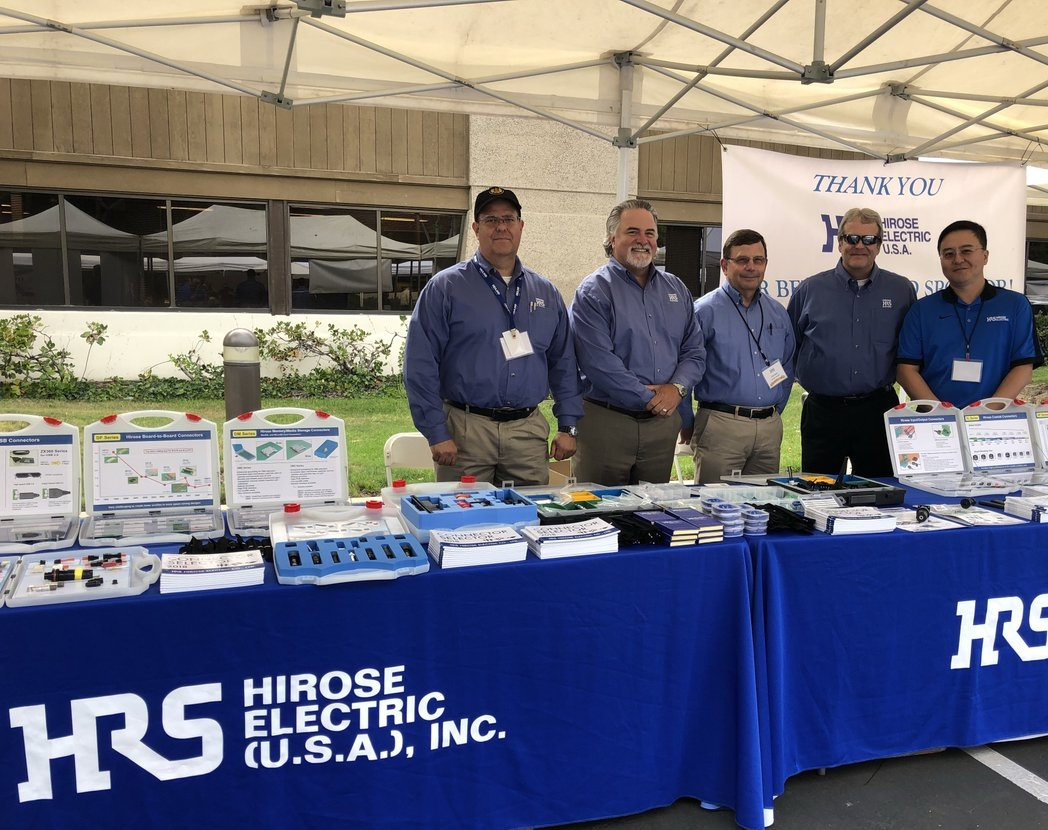 Hirose – Patrocinador Gold da San Jose Tech Fair and Expo da Heilind EUA