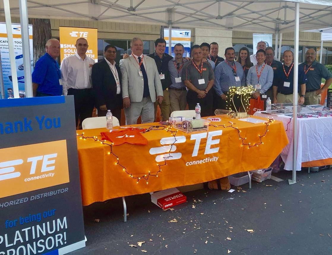 TE-Patrocinador-Platinum-da-San-Jose-Tech-Fair-and-Expo-da-Heilind-EUA