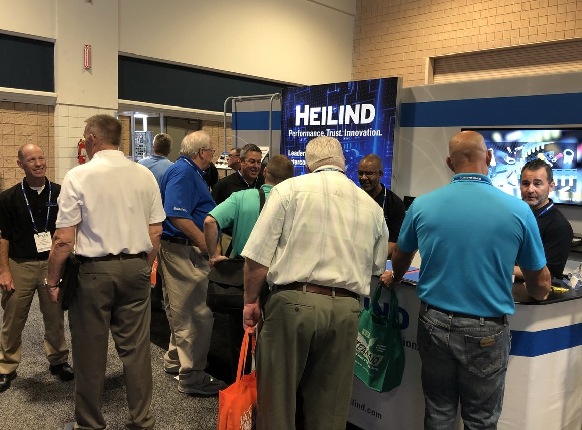 Stand da Heilind Electronics (EUA) na IBEX Show 2018